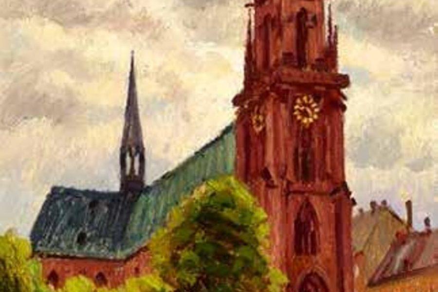 Chiesa di Karlsruhe, Germania